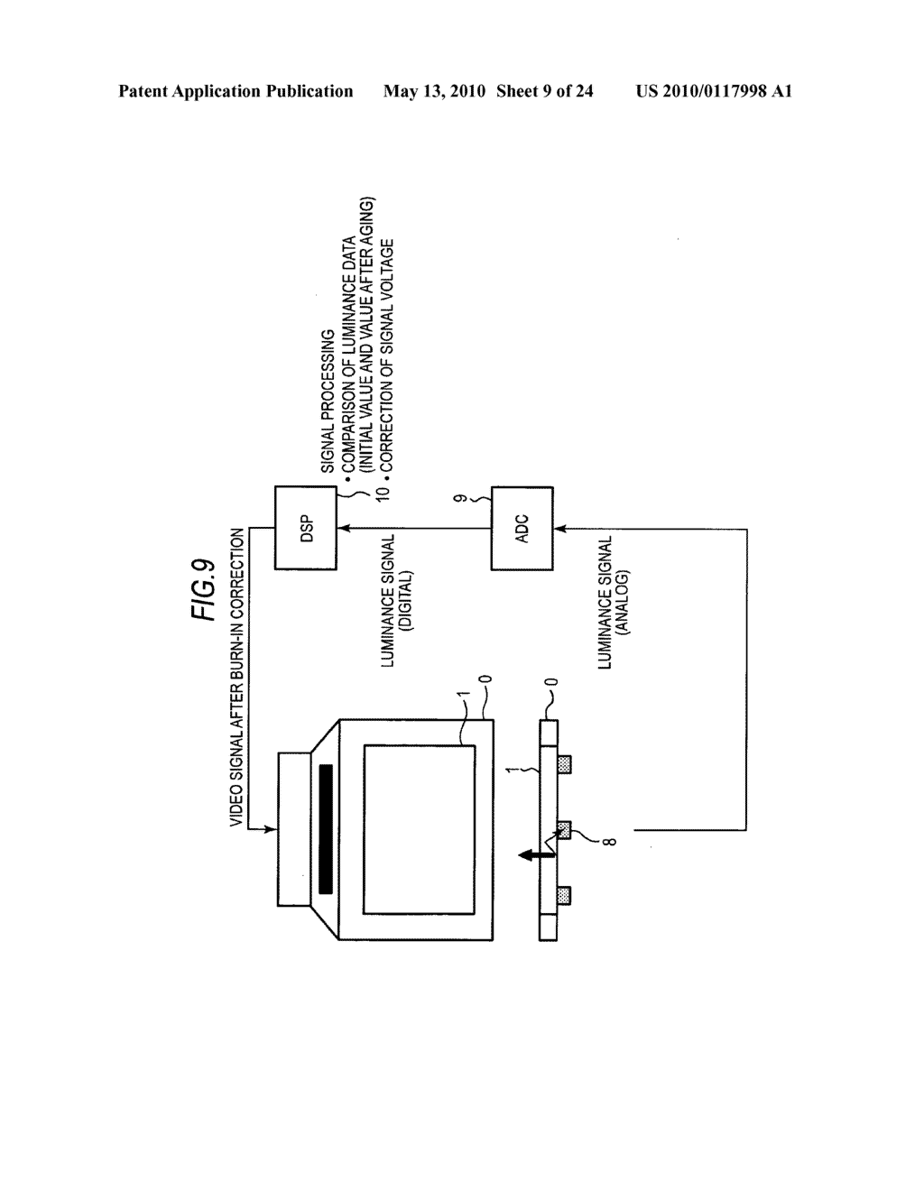Display device and electronic product - diagram, schematic, and image 10
