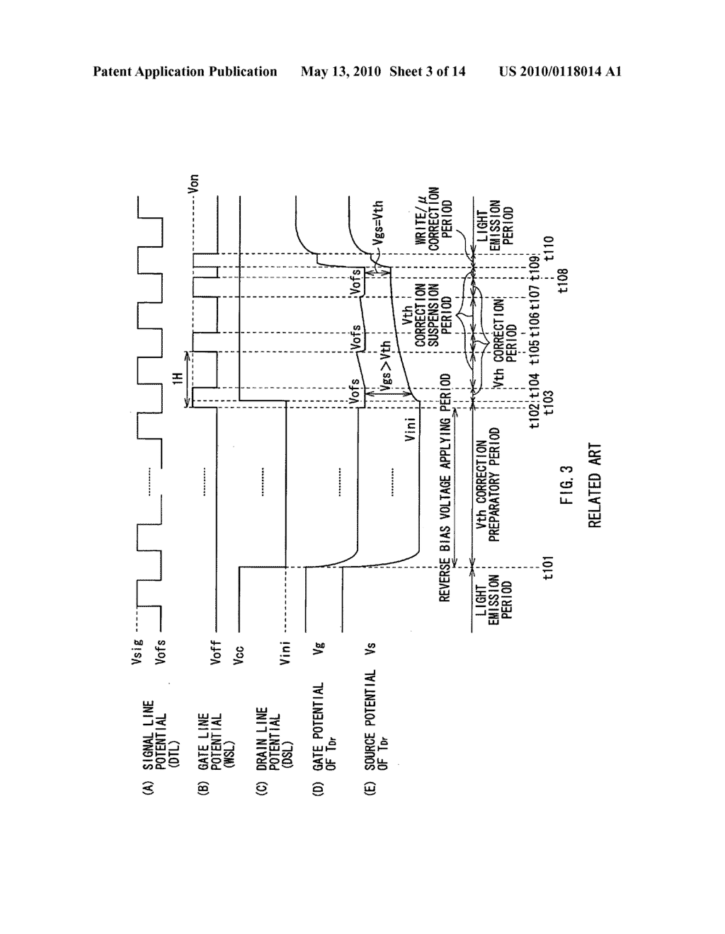 Display device, electronic device, and method of driving display device - diagram, schematic, and image 04