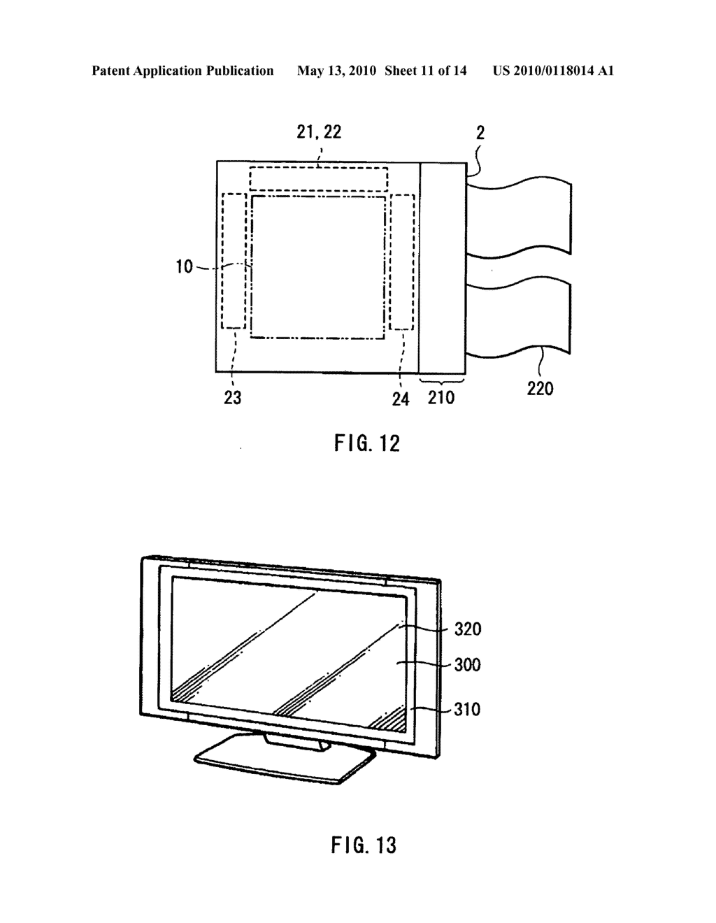 Display device, electronic device, and method of driving display device - diagram, schematic, and image 12