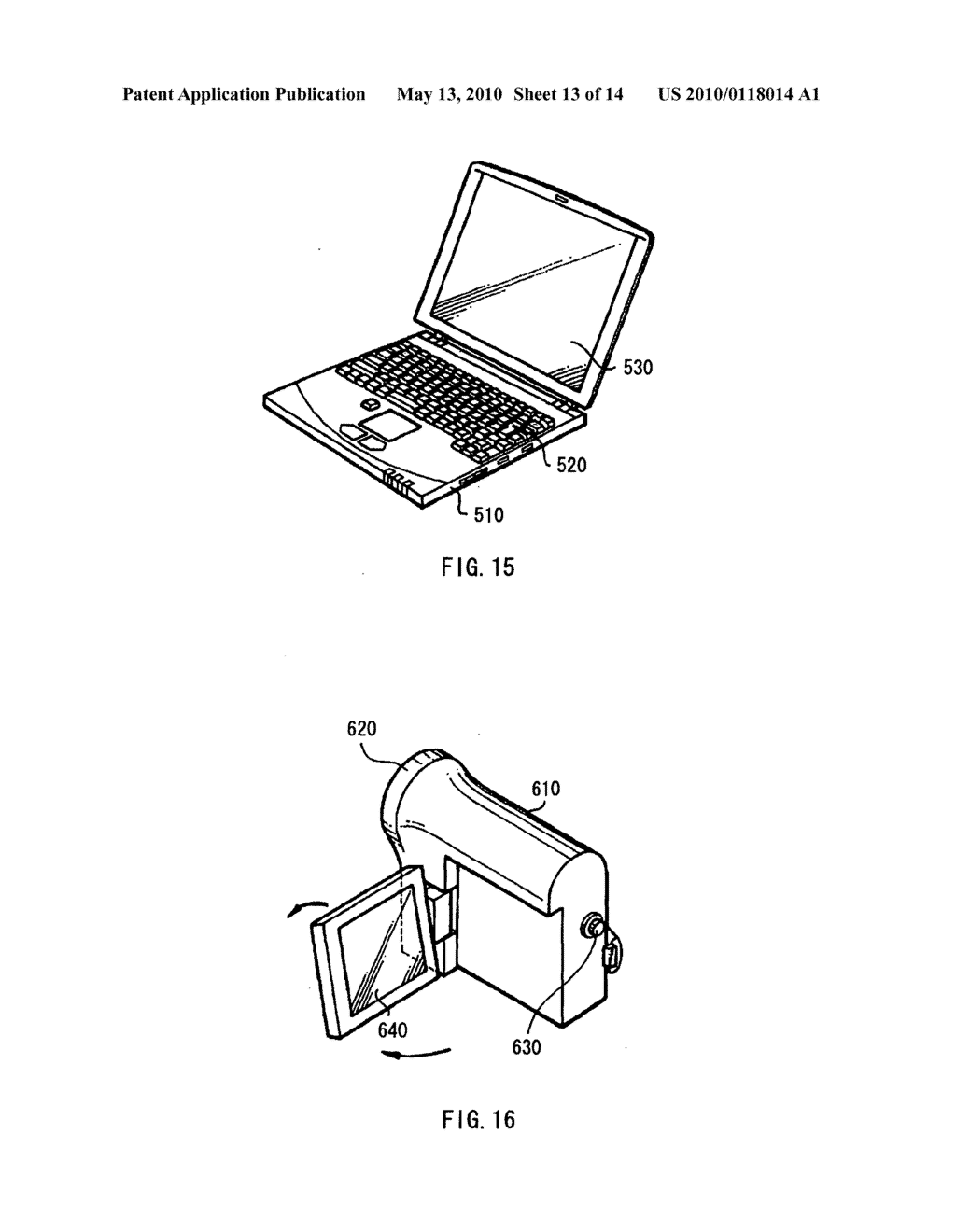 Display device, electronic device, and method of driving display device - diagram, schematic, and image 14