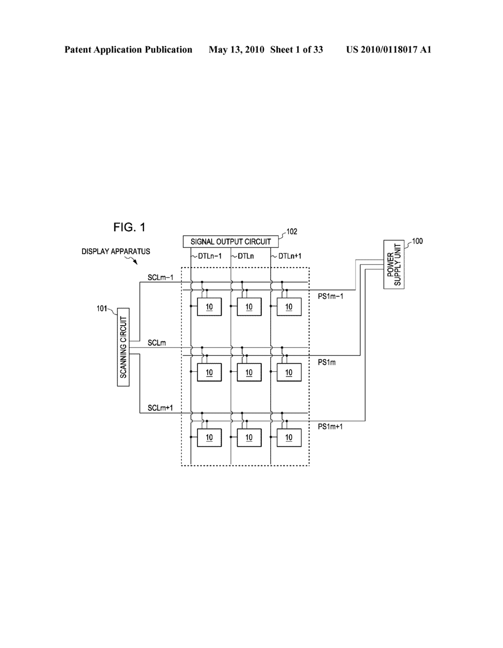 ORGANIC ELECTROLUMINESCENT LIGHT EMITTING UNIT DRIVING METHOD - diagram, schematic, and image 02