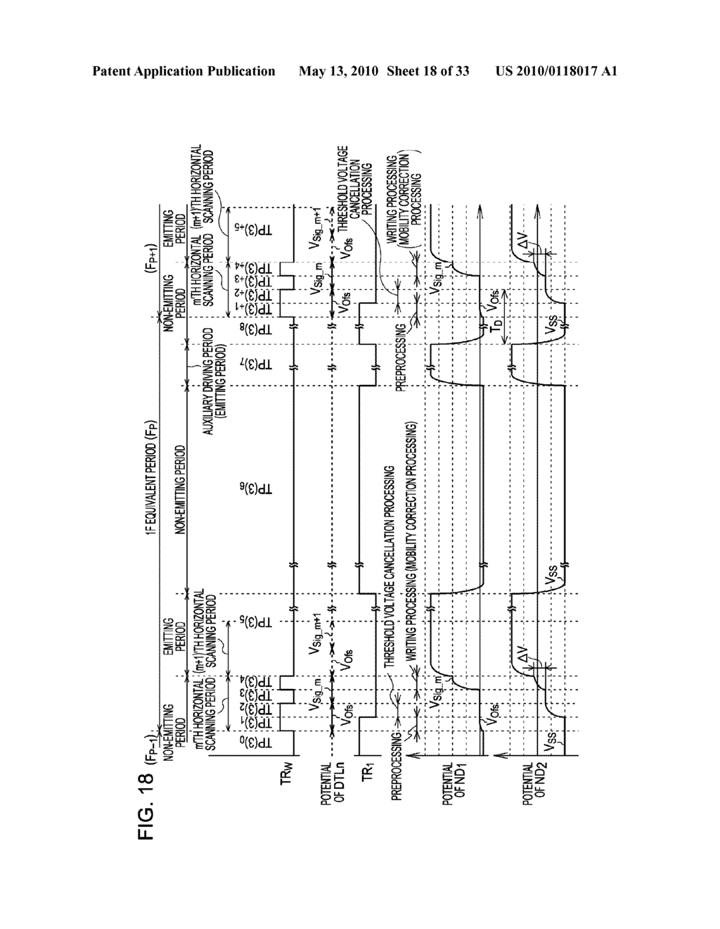ORGANIC ELECTROLUMINESCENT LIGHT EMITTING UNIT DRIVING METHOD - diagram, schematic, and image 19