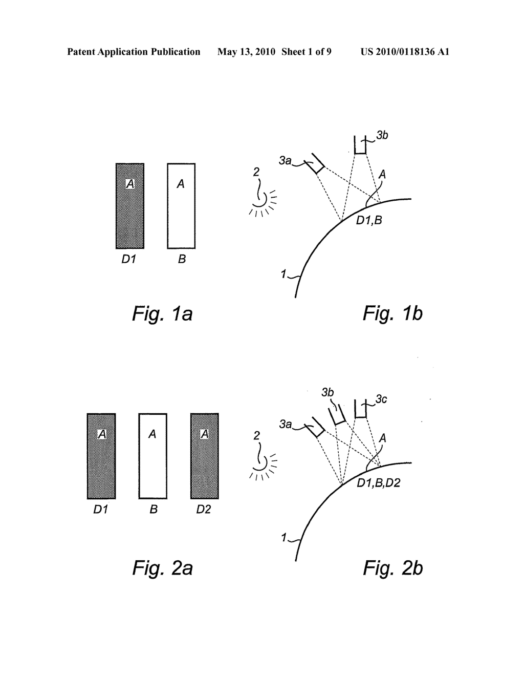 SURFACE INSPECTION DEVICE AND AN ARRANGEMENT FOR INSPECTING A SURFACE - diagram, schematic, and image 02