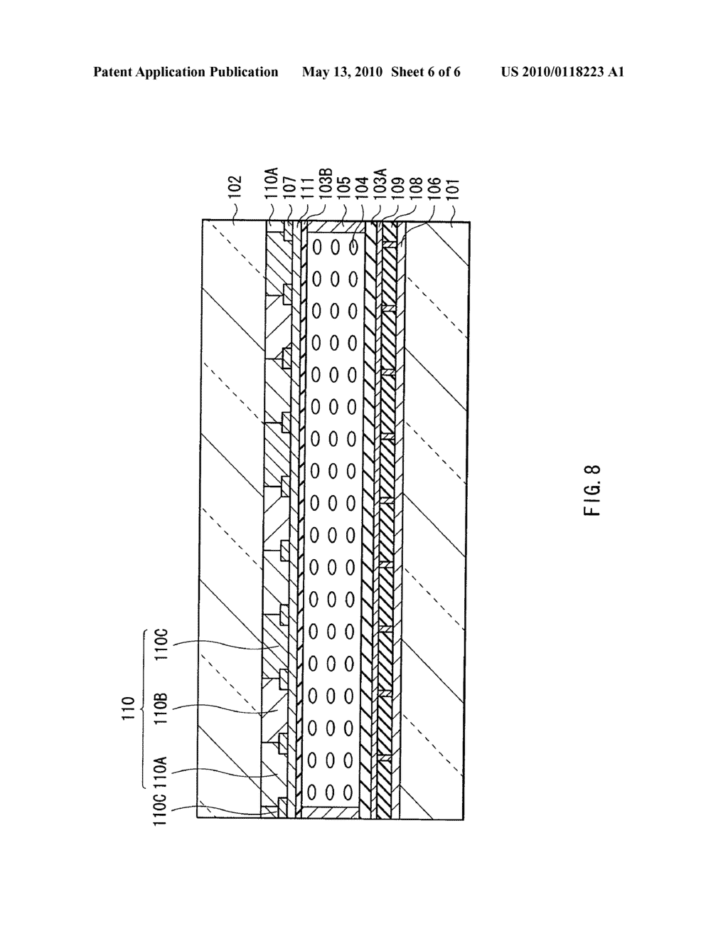 LIQUID CRYSTAL DISPLAY AND METHOD OF MANUFACTURING THE SAME - diagram, schematic, and image 07