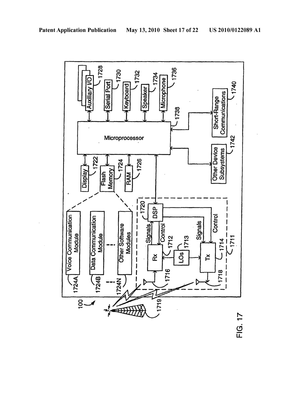 SYSTEM AND METHOD FOR COMPRESSING SECURE E-MAIL FOR EXCHANGE WITH A MOBILE DATA COMMUNICATION DEVICE - diagram, schematic, and image 18