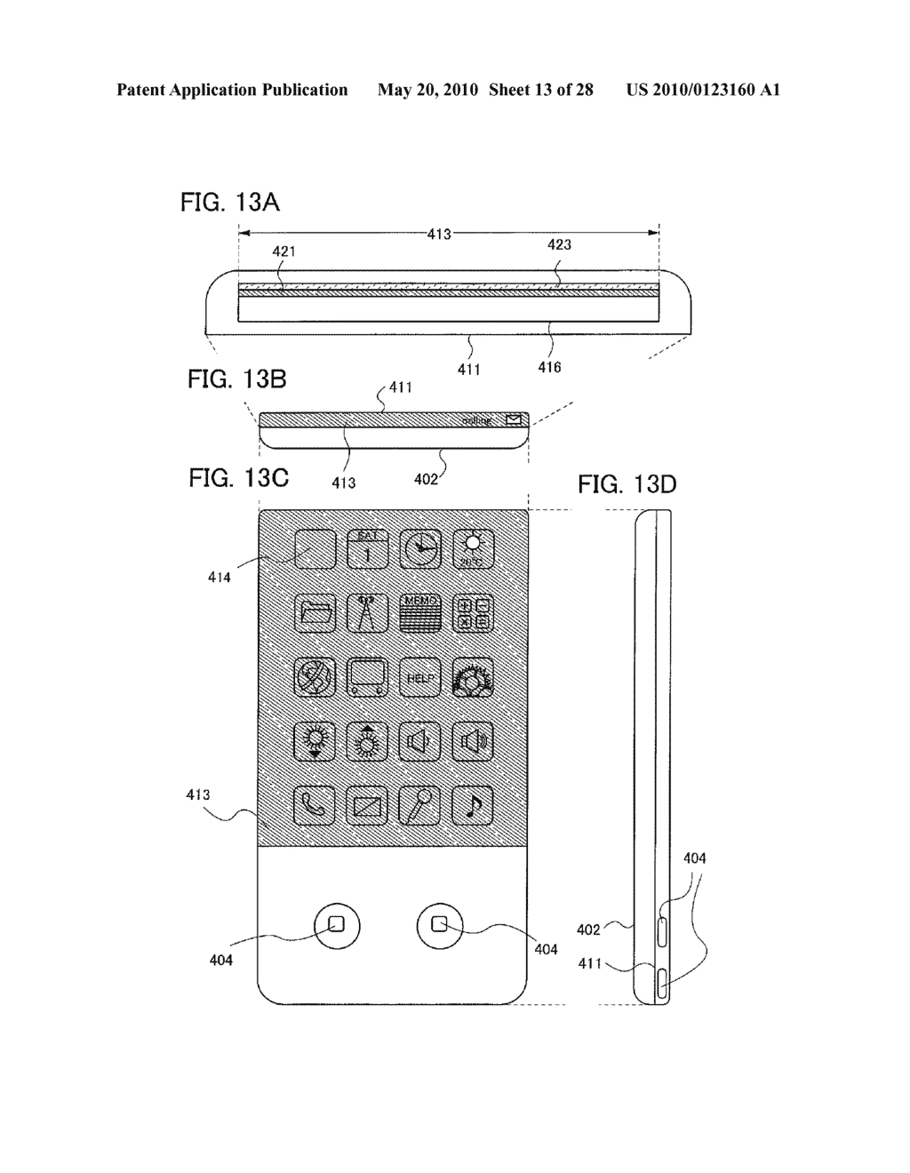 Light-Emitting Device, Method for Manufacturing the Same, and Cellular Phone - diagram, schematic, and image 14