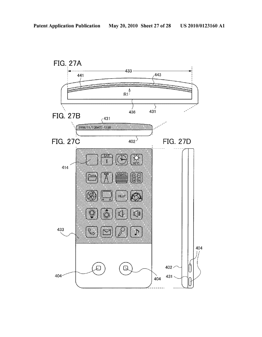 Light-Emitting Device, Method for Manufacturing the Same, and Cellular Phone - diagram, schematic, and image 28