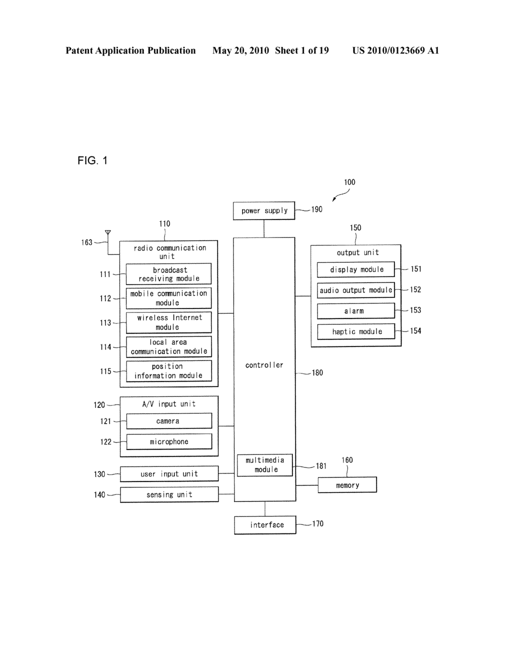 WIRELESS COMMUNICATION TERMINAL AND METHOD FOR DISPLAYING IMAGE DATA - diagram, schematic, and image 02