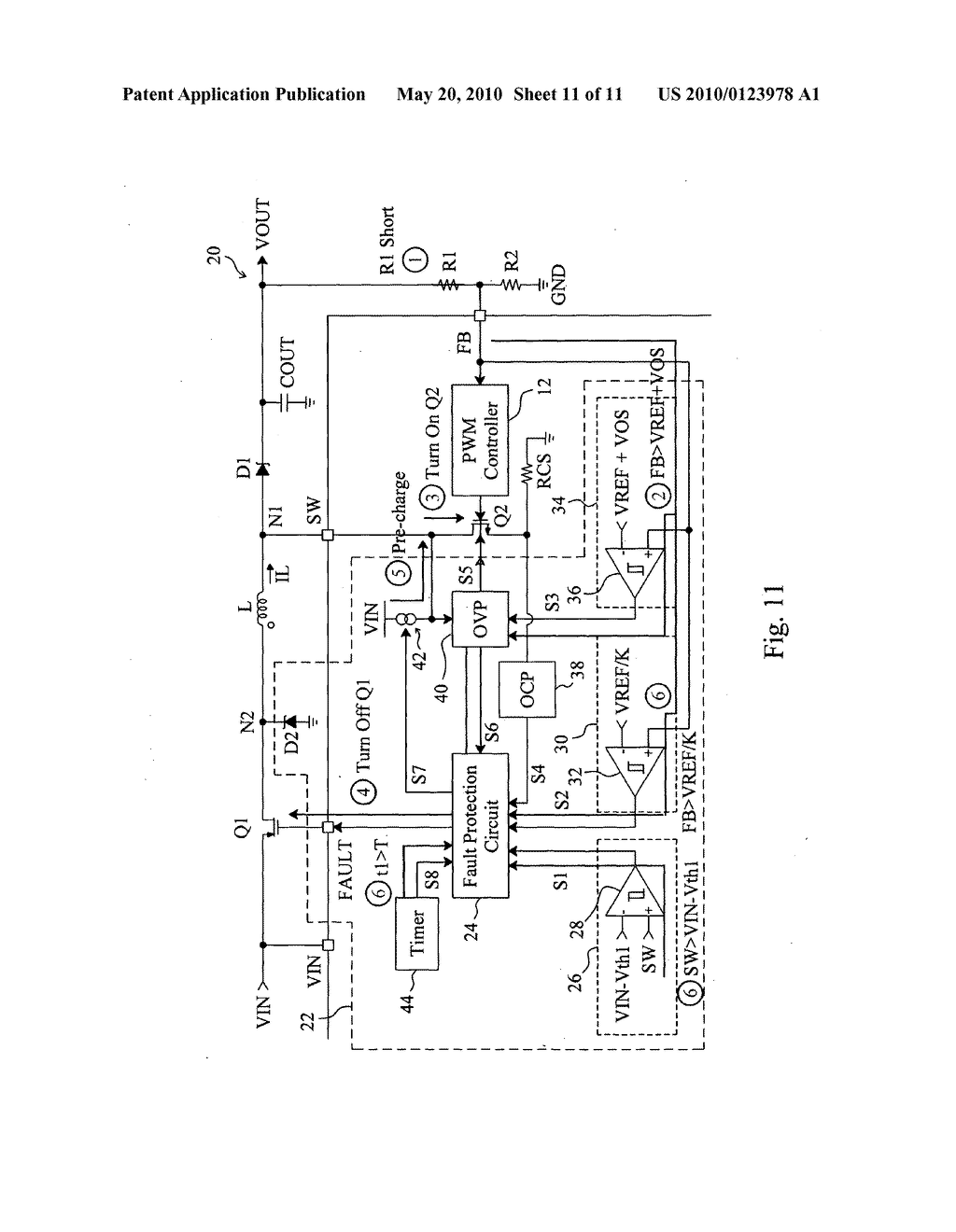 Short Circuit And Open Protection For A Boost Converter Diagram Schematic Image 12