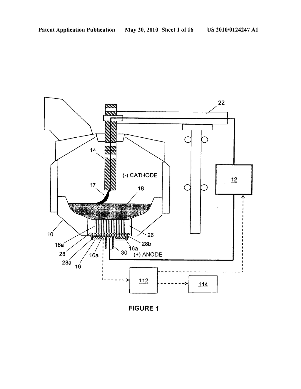 electric arc diagram