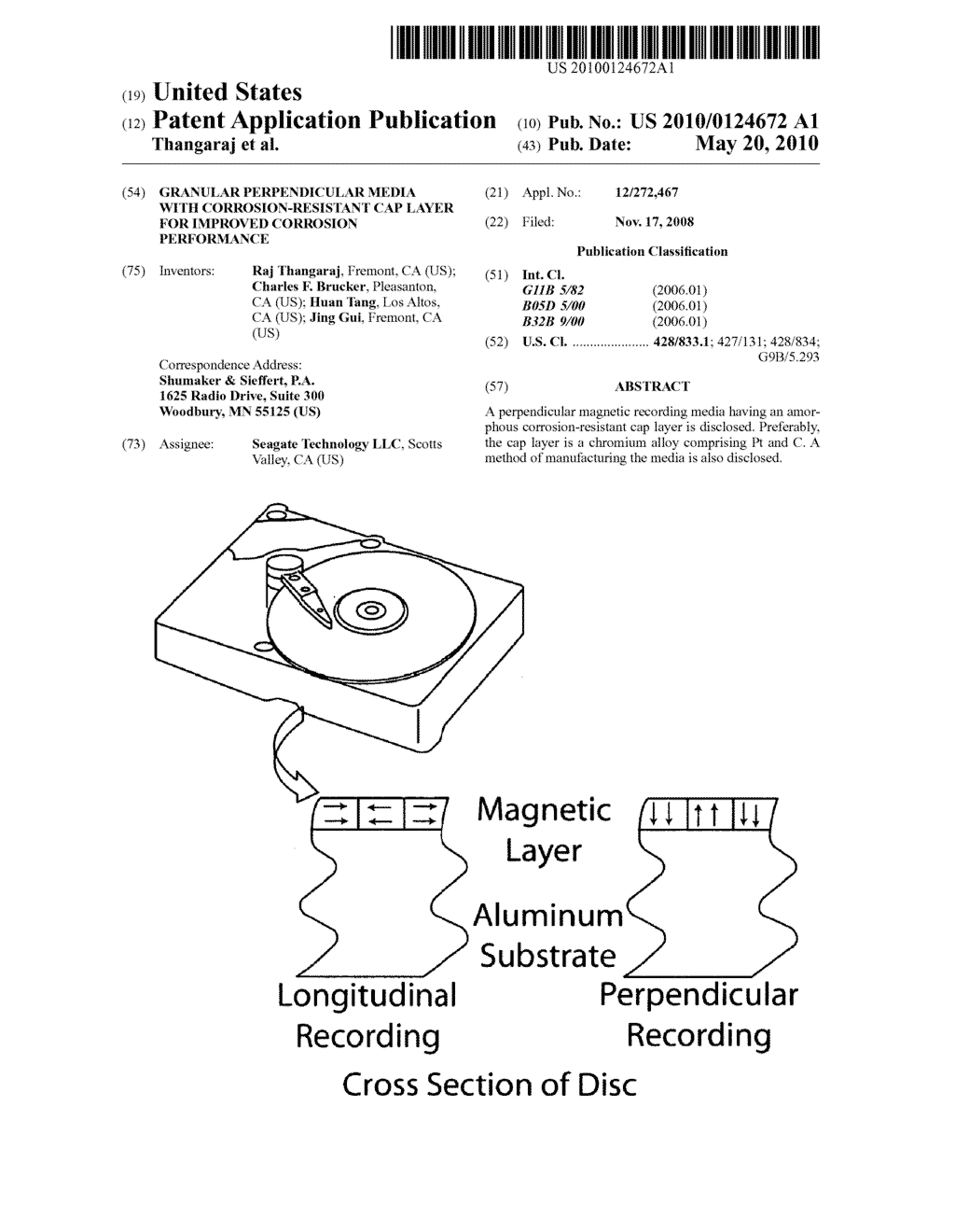 GRANULAR PERPENDICULAR MEDIA WITH CORROSION-RESISTANT CAP LAYER FOR IMPROVED CORROSION PERFORMANCE - diagram, schematic, and image 01