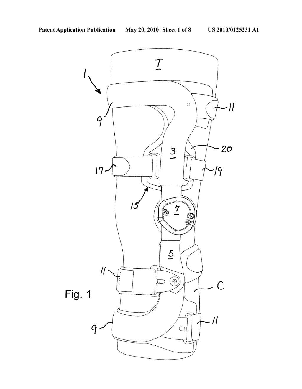 Compression suspension strap assembly and knee brace equipped compression suspension strap assembly and knee brace equipped therewith diagram schematic and image 02 pooptronica