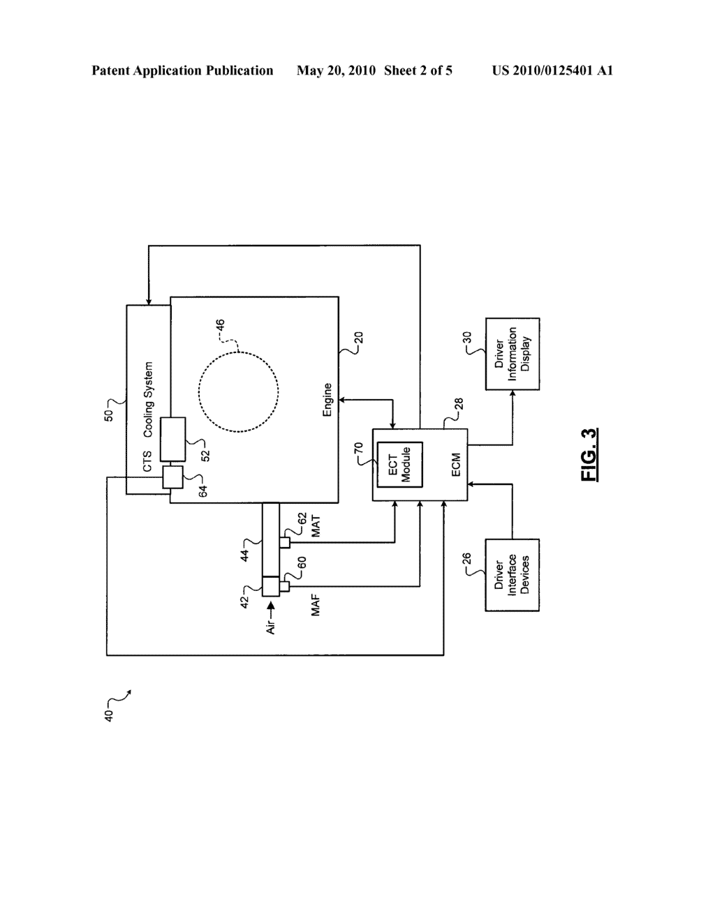 CONTROL SYSTEMS AND METHODS FOR ESTIMATING ENGINE COOLANT HEAT LOSS -  diagram, schematic, and image 03