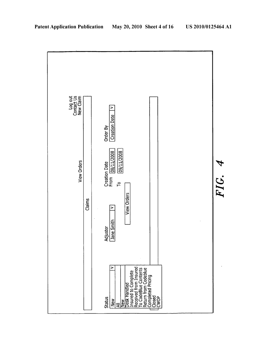 System and Method for Entering a List of Insured Items for Valuation - diagram, schematic, and image 05