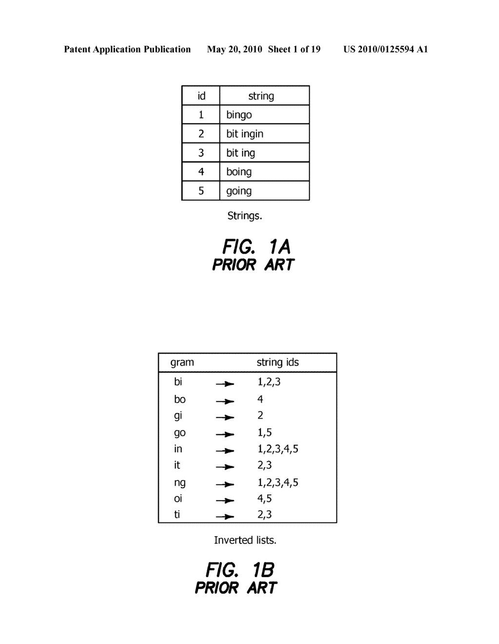 Method and Apparatus for Improving Performance of Approximate String Queries Using Variable Length High-Quality Grams - diagram, schematic, and image 02
