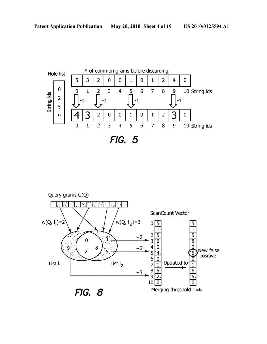 Method and Apparatus for Improving Performance of Approximate String Queries Using Variable Length High-Quality Grams - diagram, schematic, and image 05