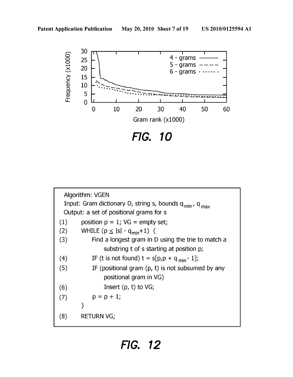 Method and Apparatus for Improving Performance of Approximate String Queries Using Variable Length High-Quality Grams - diagram, schematic, and image 08