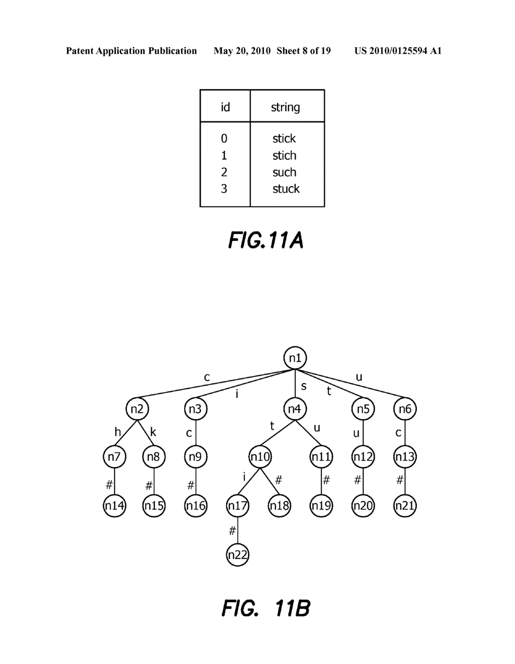 Method and Apparatus for Improving Performance of Approximate String Queries Using Variable Length High-Quality Grams - diagram, schematic, and image 09