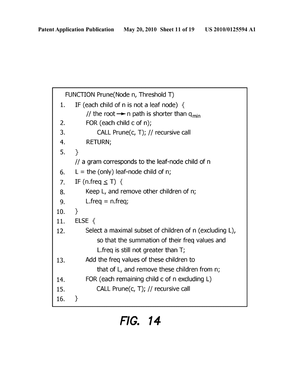 Method and Apparatus for Improving Performance of Approximate String Queries Using Variable Length High-Quality Grams - diagram, schematic, and image 12