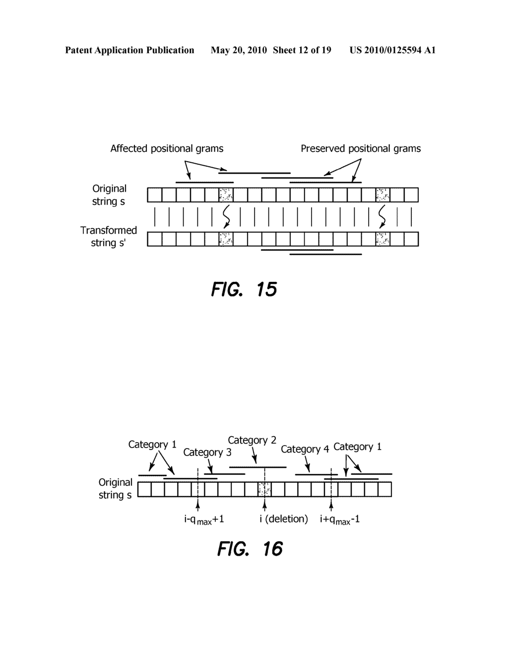 Method and Apparatus for Improving Performance of Approximate String Queries Using Variable Length High-Quality Grams - diagram, schematic, and image 13