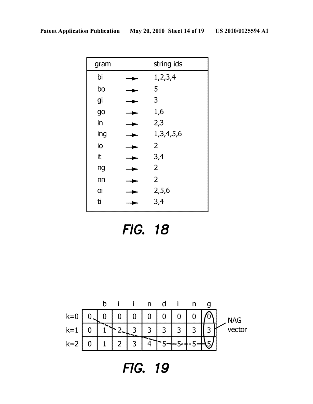Method and Apparatus for Improving Performance of Approximate String Queries Using Variable Length High-Quality Grams - diagram, schematic, and image 15