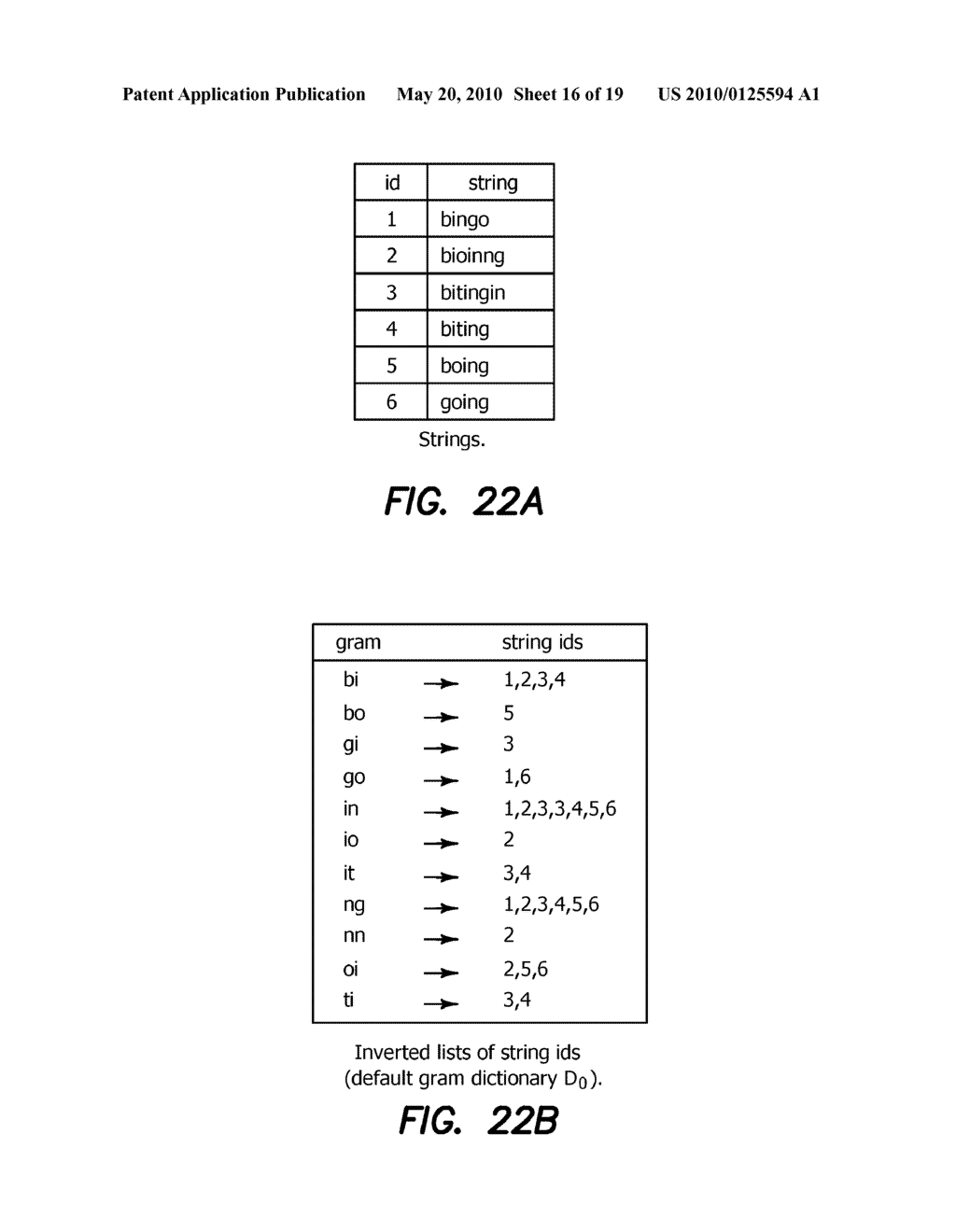 Method and Apparatus for Improving Performance of Approximate String Queries Using Variable Length High-Quality Grams - diagram, schematic, and image 17
