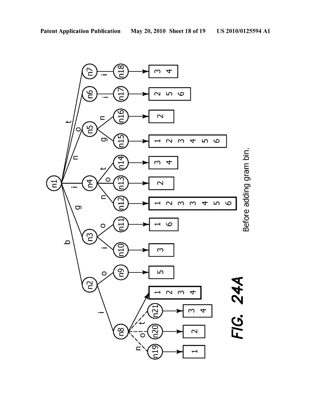 Method and Apparatus for Improving Performance of Approximate String Queries Using Variable Length High-Quality Grams - diagram, schematic, and image 19