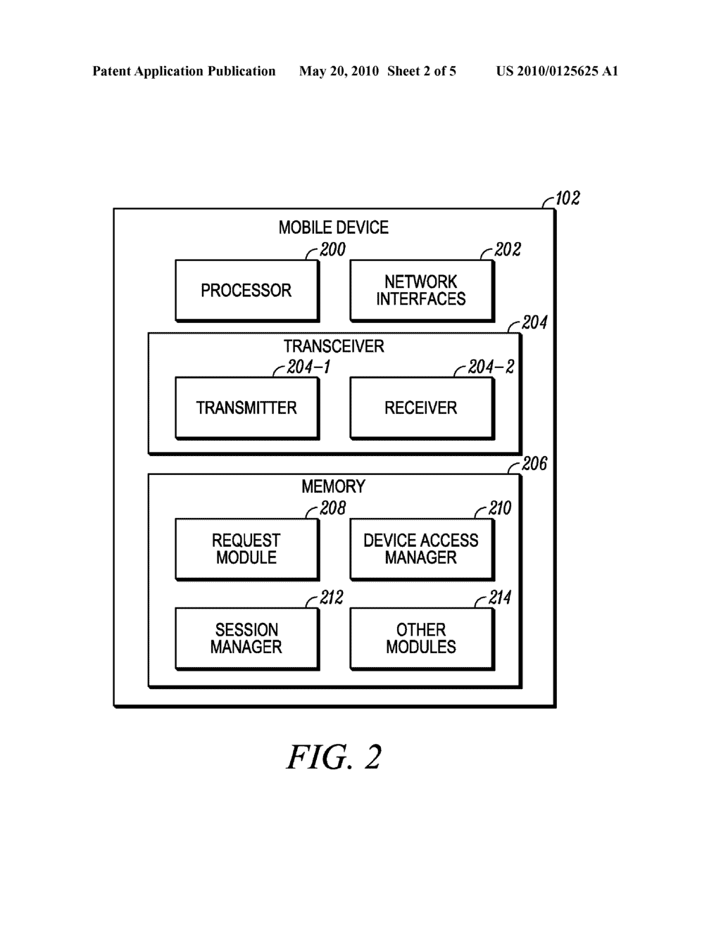 Method for Restricting Usage of a Mobile Device for Participating in a Session - diagram, schematic, and image 03