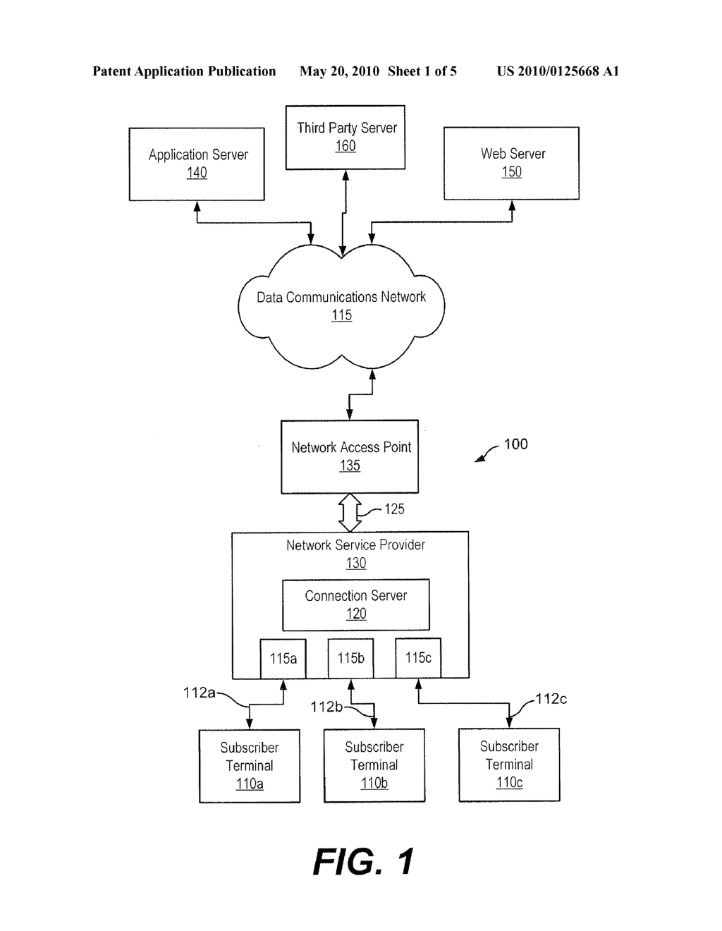 Methods, Systems, and Computer Program Products for Enhancing Internet Security for Network Subscribers - diagram, schematic, and image 02