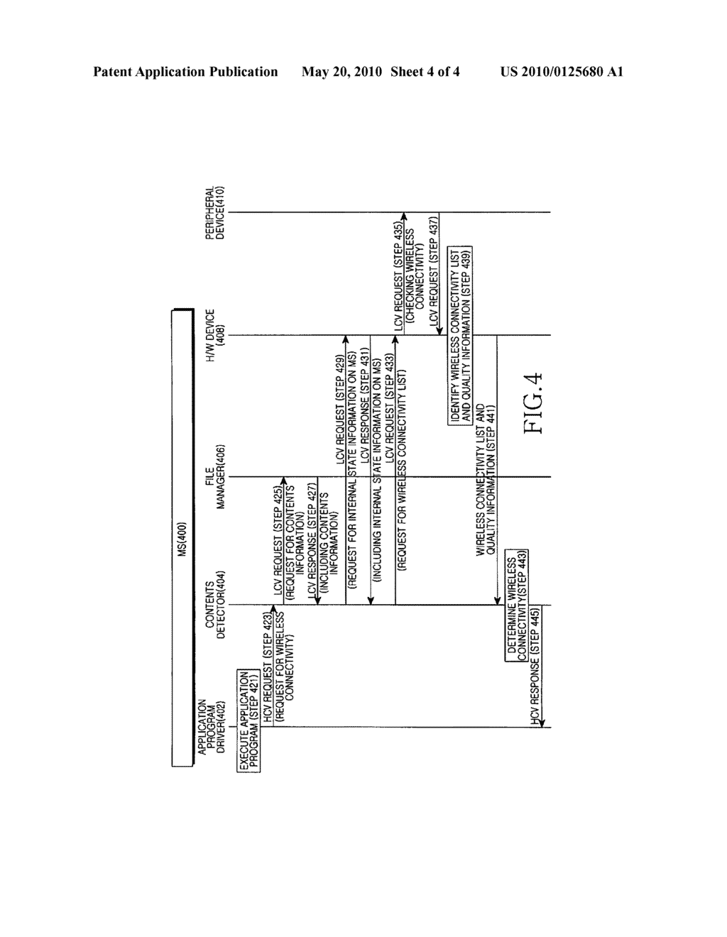 APPARATUS AND METHOD FOR SELECTING WIRELESS CONNECTIVITY IN A WIRELESS COMMUNICATION TERMINAL - diagram, schematic, and image 05