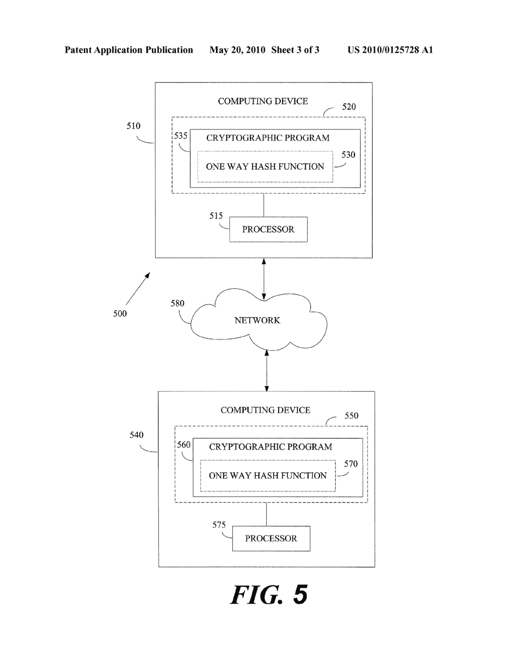 METHOD OF IMPLEMENTING ONE WAY HASH FUNCTIONS AND APPARATUS THEREFOR - diagram, schematic, and image 04