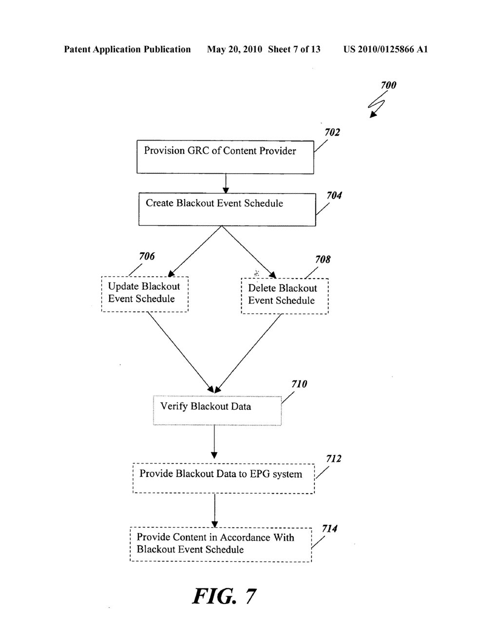 System and Method for Verifying A Conditional Access Blackout In A Video Data Distribution System - diagram, schematic, and image 08