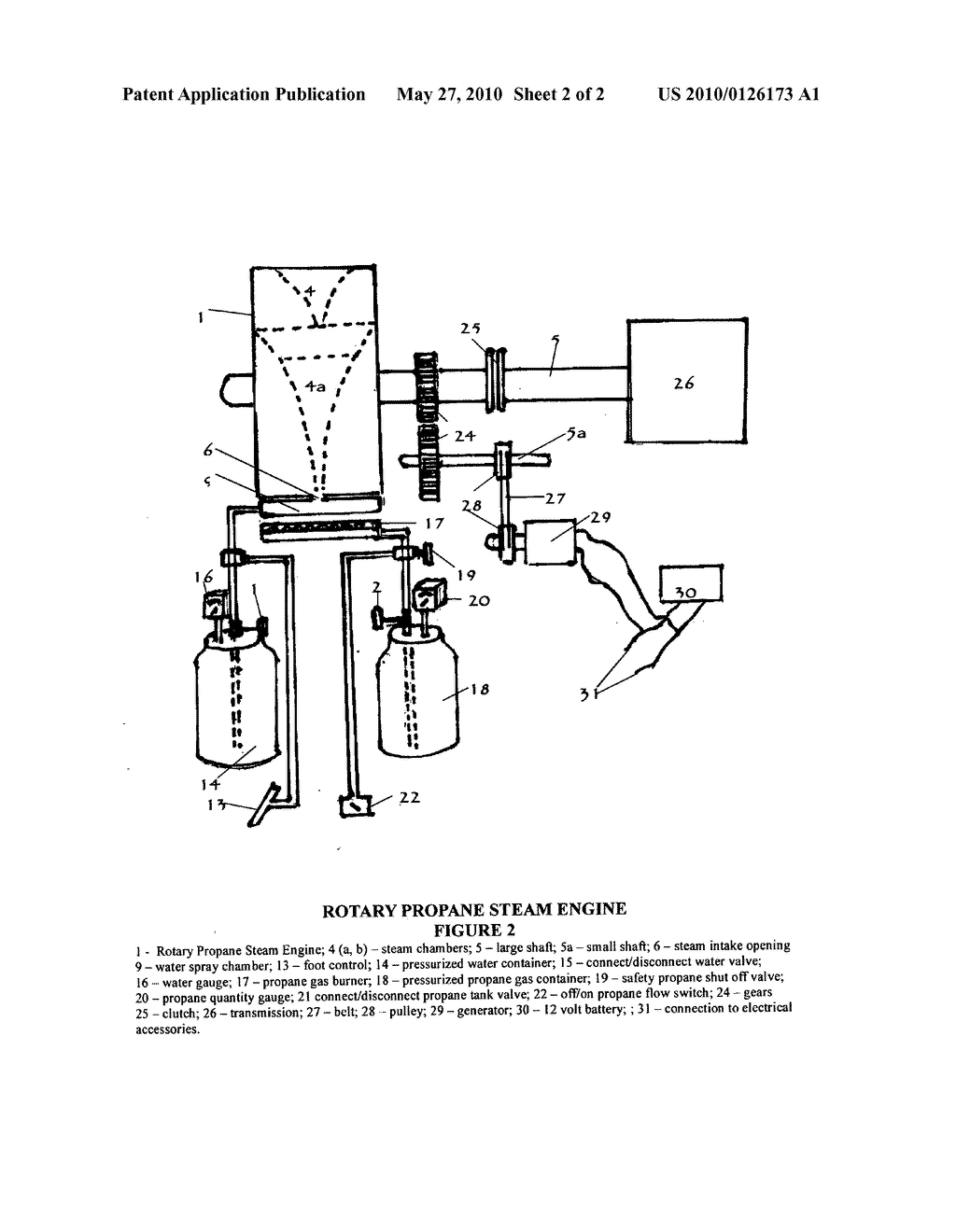 Rotary Propane Steam Engine Road Vehicle Diagram Schematic And Of Image 03