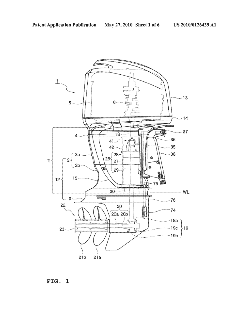 OUTBOARD MOTOR - diagram, schematic, and image 02