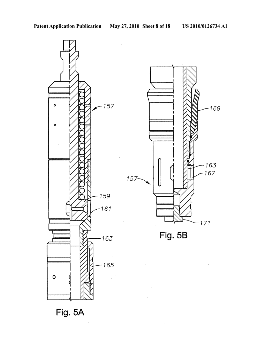 Method And Apparatus For Retrieving Installing A Drill Lock Of Assembly Casing Drilling Diagram Schematic Image 09