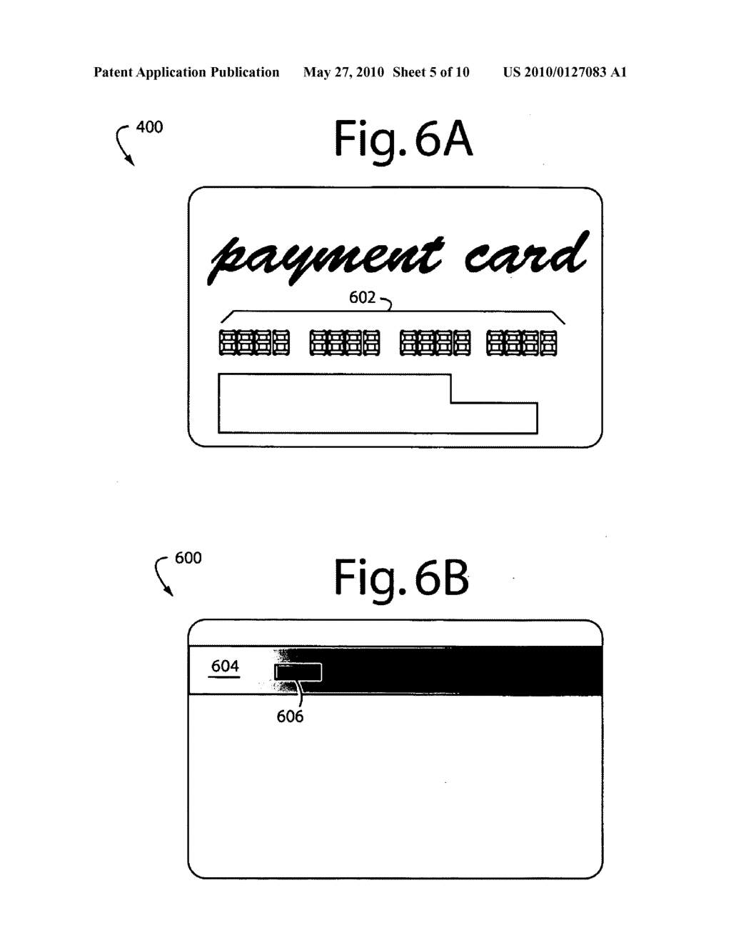 Auto-sequencing financial payment display card - diagram, schematic, and image 06