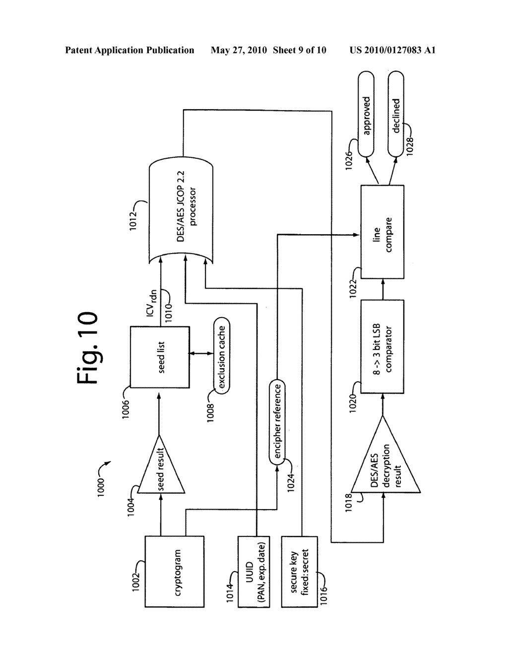 Auto-sequencing financial payment display card - diagram, schematic, and image 10