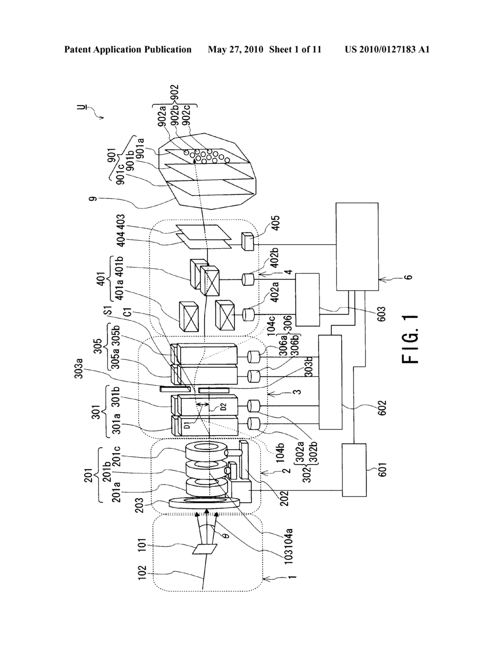 LASER-DRIVEN PARTICLE BEAM IRRADIATION APPARATUS AND METHOD - diagram, schematic, and image 02