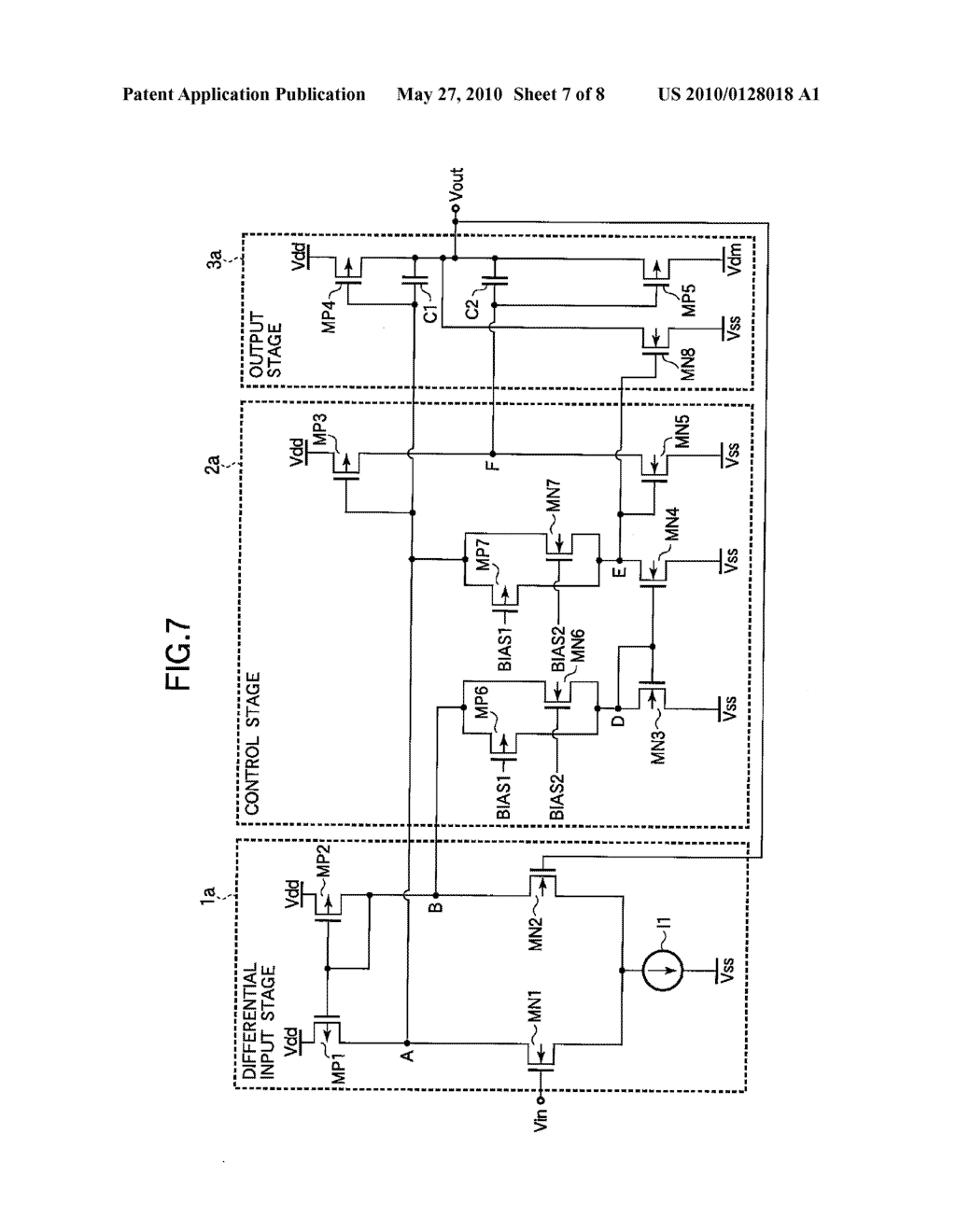 DISPLAY PANEL DRIVING VOLTAGE OUTPUT CIRCUIT - diagram, schematic, and image 08