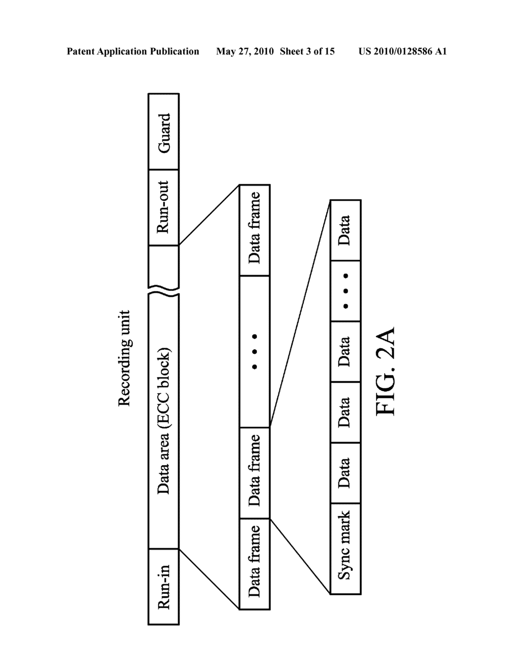 METHOD AND APPARATUS FOR ACCESSING DATA FROM DISC WITH LINKING AREA - diagram, schematic, and image 04