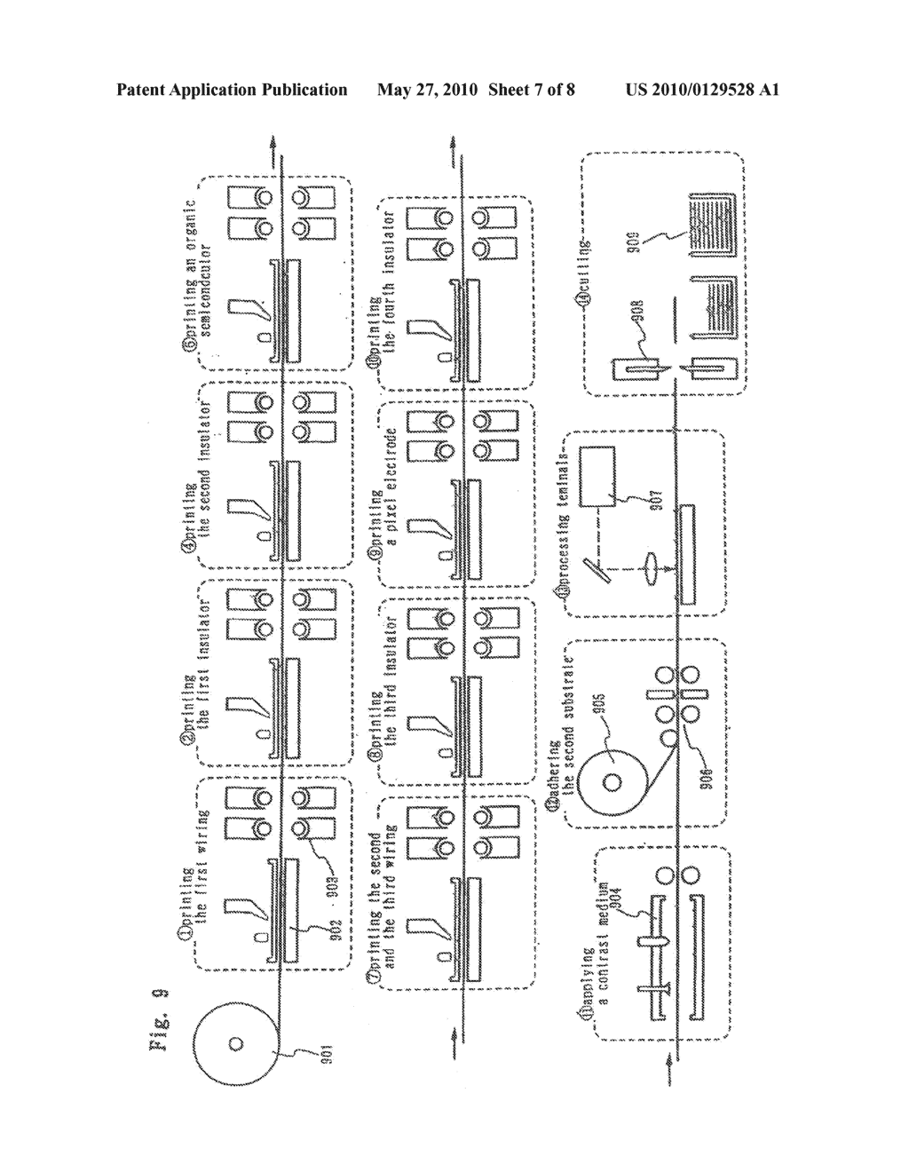 DISPLAY DEVICE AND METHOD OF FABRICATING THE SAME - diagram, schematic, and image 08