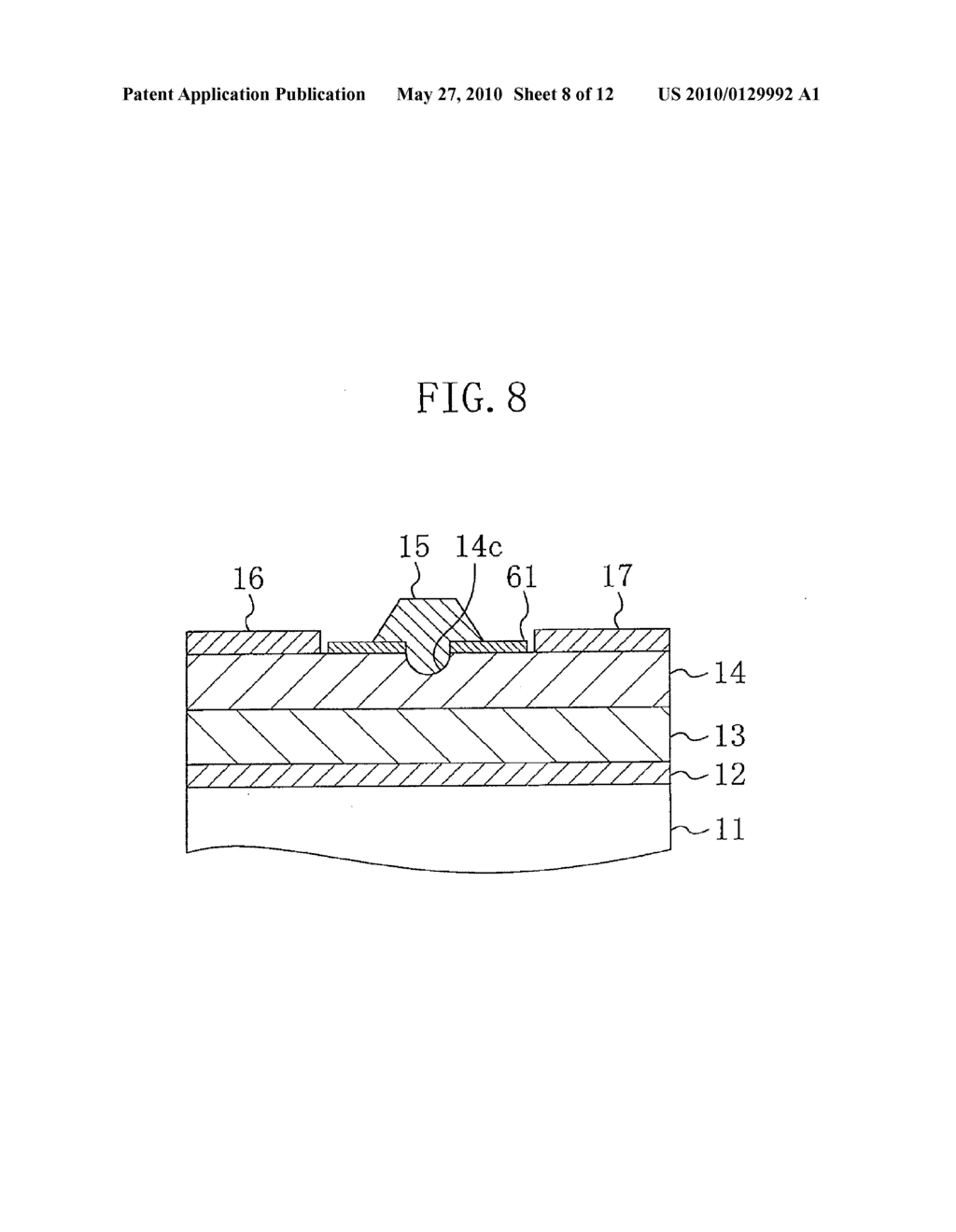 METHOD FOR MANUFACTURING A SEMICONDUCTOR DEVICE - diagram, schematic, and image 09