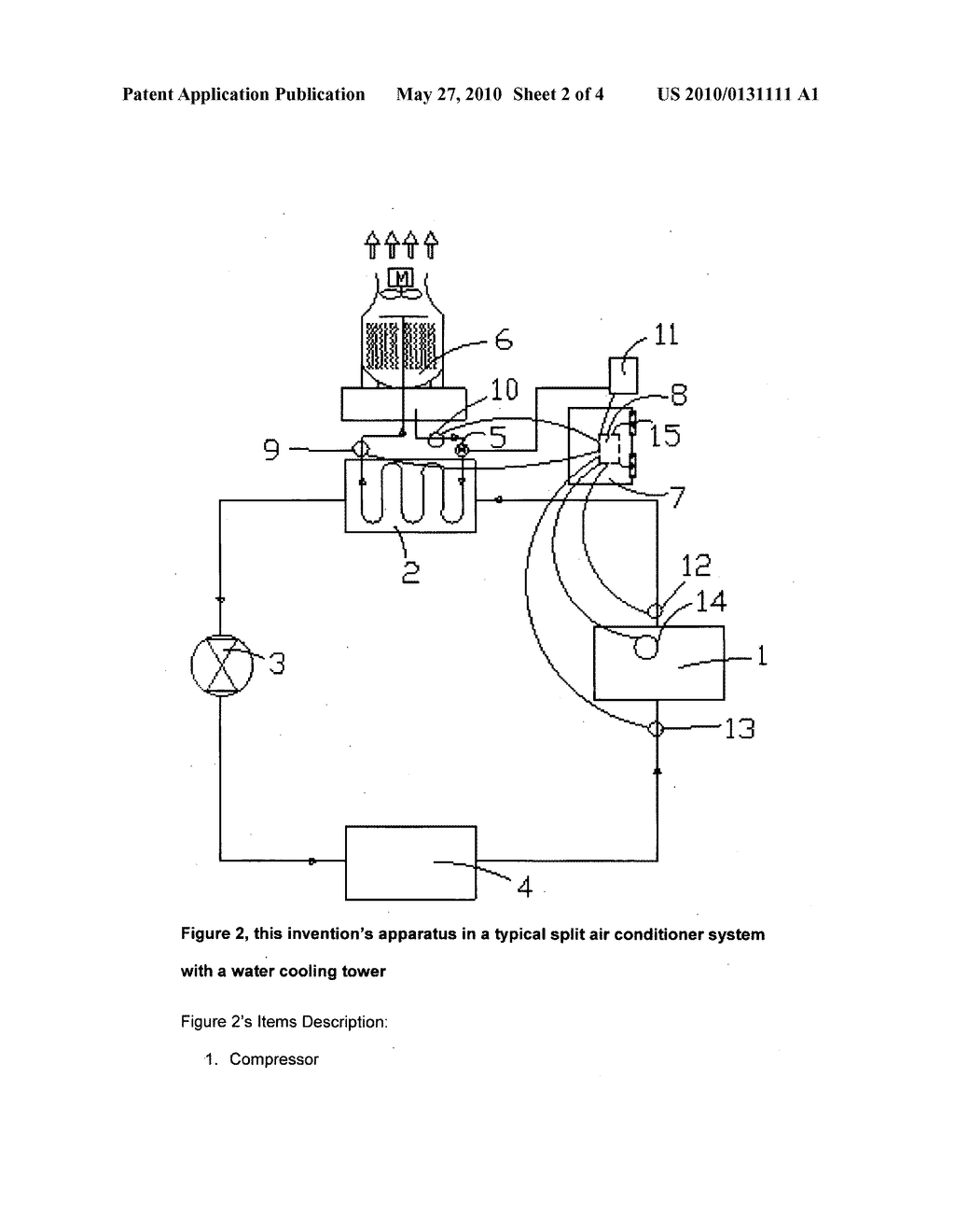 Air Conditioner Water Pump Energy Saving Apparatus - diagram, schematic, and image 03