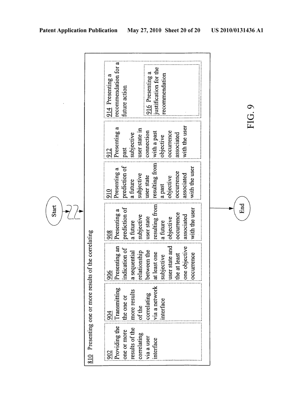 Soliciting data indicating at least one subjective user state in response to acquisition of data indicating at least one objective occurrence - diagram, schematic, and image 21
