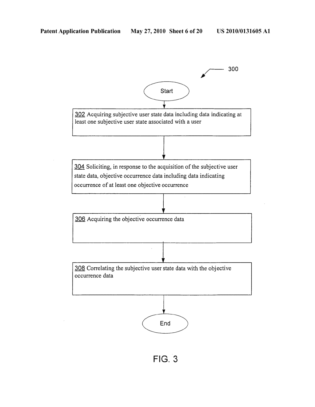 Soliciting data indicating at least one objective occurrence in response to acquisition of data indicating at least one subjective user state - diagram, schematic, and image 07