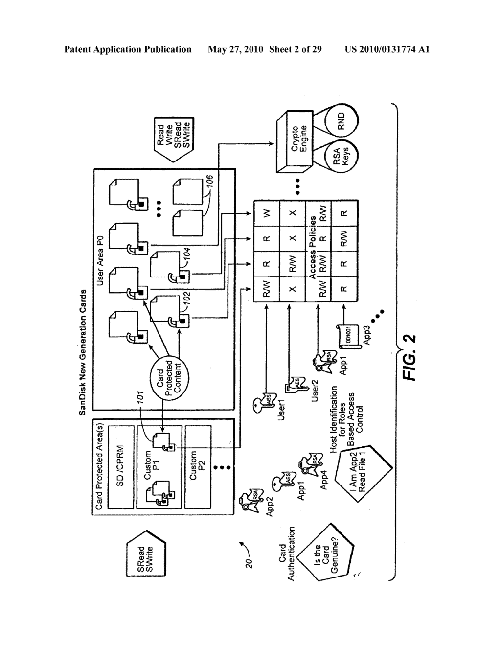 Method for Secure Storage and Delivery of Media Content - diagram, schematic, and image 03