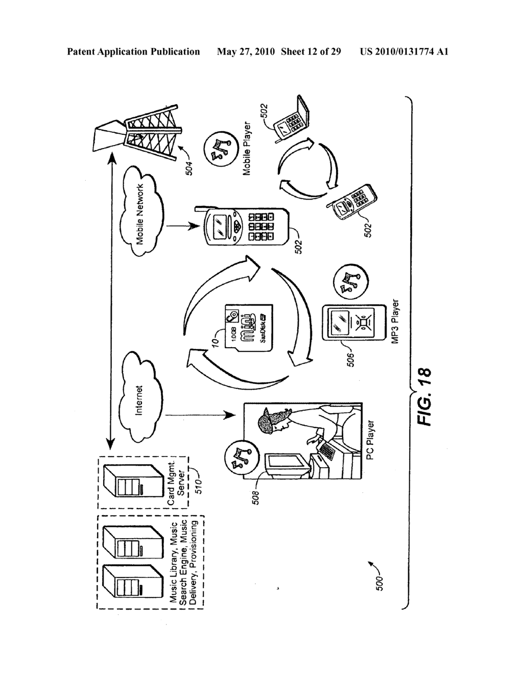 Method for Secure Storage and Delivery of Media Content - diagram, schematic, and image 13