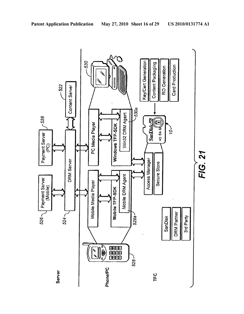 Method for Secure Storage and Delivery of Media Content - diagram, schematic, and image 17