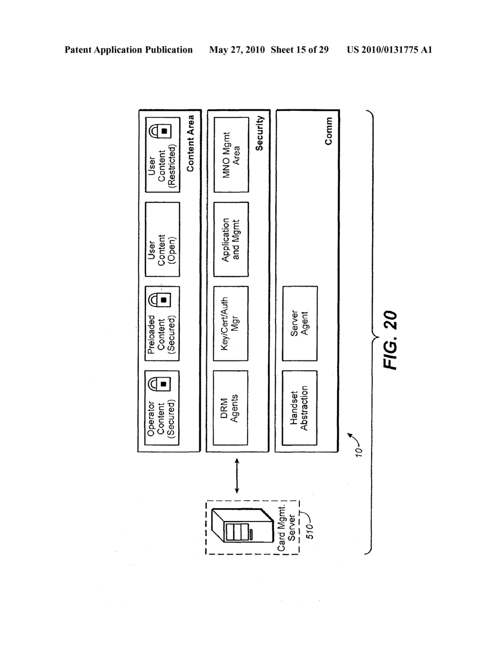 Method for Secure Storage and Delivery of Media Content - diagram, schematic, and image 16
