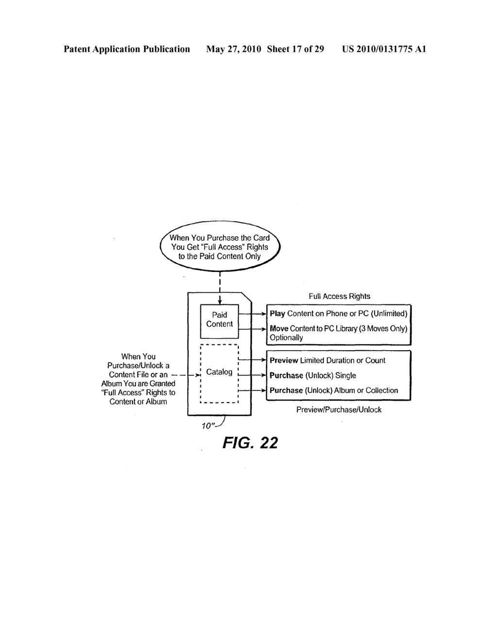 Method for Secure Storage and Delivery of Media Content - diagram, schematic, and image 18